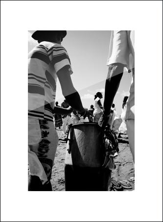 14 Les tambours de Yemanja : (petits formats)