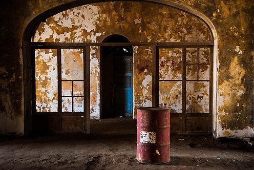 Bidon (Ile de Gorée)  Tirage 90 X 60 cm, 135 x 90 plein format, Patrick Raymond