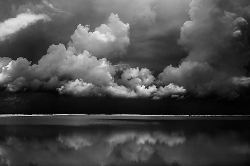 Tormenta en las salinas,collection (Landscape) Tirage 90 X 60 cm, 135 x 90 plein format, Patrick Raymond