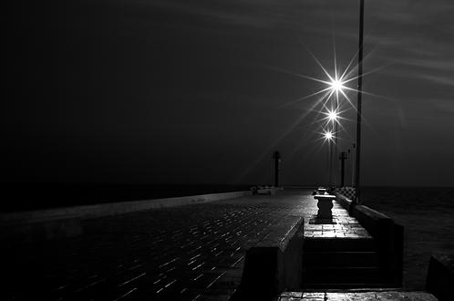 A noche (collection Blackmood) Tirage 90 X 60 cm, 135 x 90 plein format, Patrick Raymond