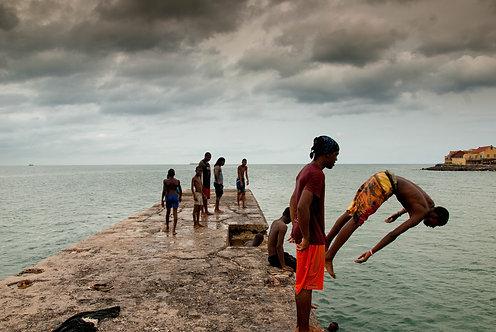 Ile de Gorée (Sénégal) Tirage 90 X 60 cm, 135 x 90 plein format, Patrick Raymond