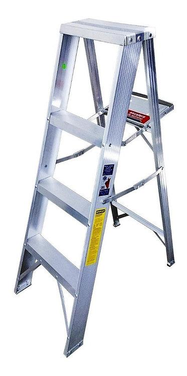Escalera De Aluminio Escalumex 1.22 Mts Cap. 90 Kg, 4 Peldaños