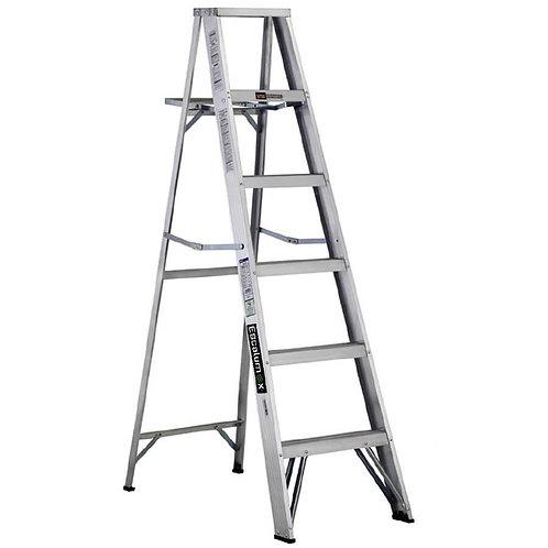 Escalera De Aluminio Escalumex 1.83 Mts Cap. 90 Kg, 6 Peldaños