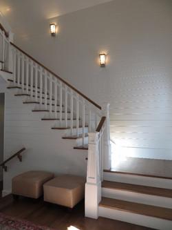 Lighthouse style newel post