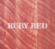 ruby red ghostwood circle sawn