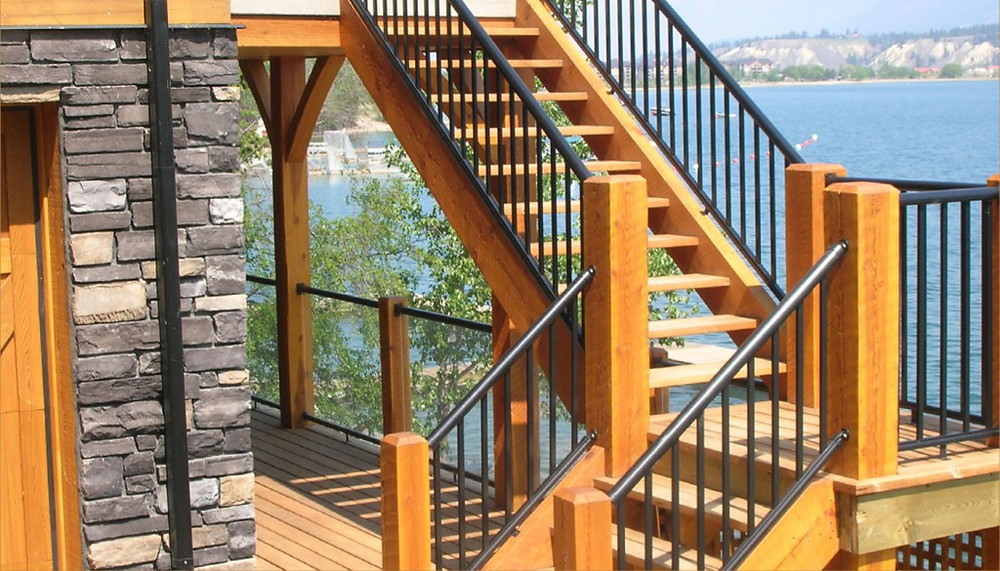 CENTURY ALUMINUM RAILINGS PRODUCT (Stairs and Railing not built by CDSR)