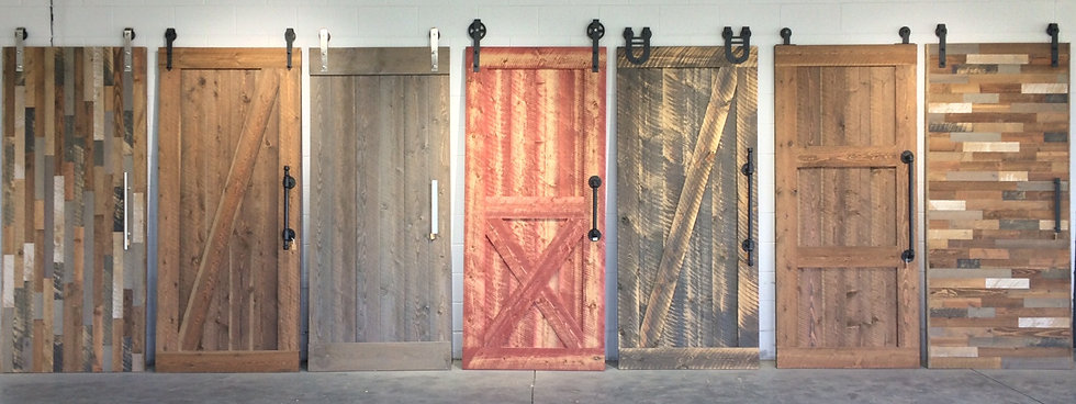 Ghostwood Barn Doors
