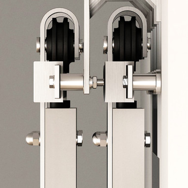 Wall-Mount Bypass Bracket- Stainless Steel