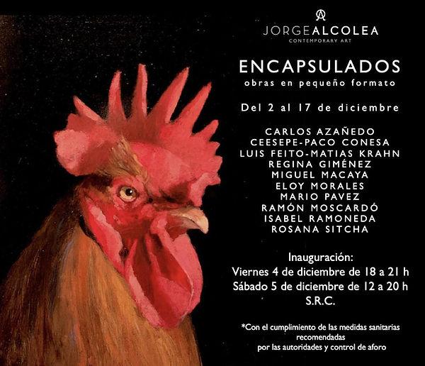 exposicion diciembre galería Jorge Alcolea Mario Pavez