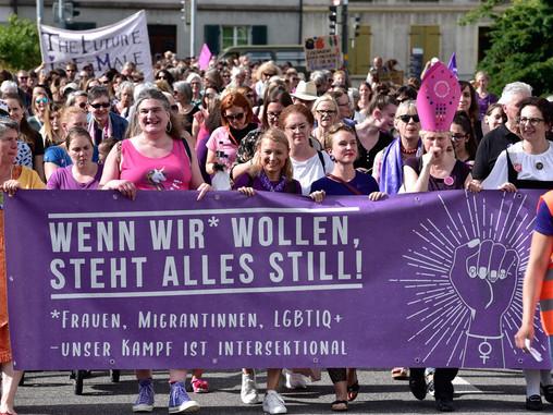 Das war der Frauen*streik 2019!