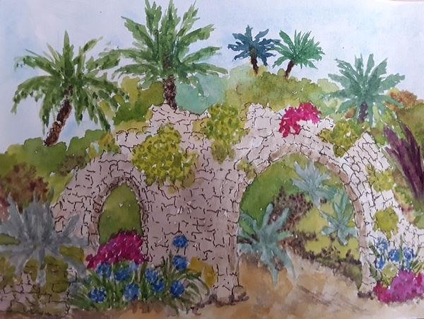 Barbara Tresco Abbey Tropical gardens wc