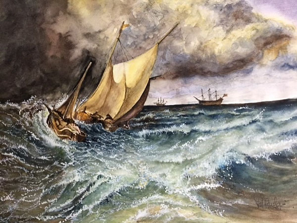 Val Dutch boats in gale by Turner.jpg