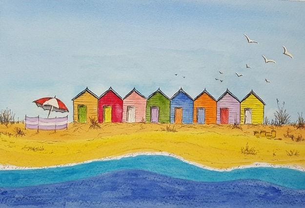 Liz Charmouth beach wc.jpg