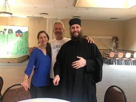 Fr. Matthew Penney and Presvytera Catherine Goodbye Lunch
