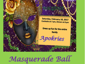 Apokries Masquerade Ball