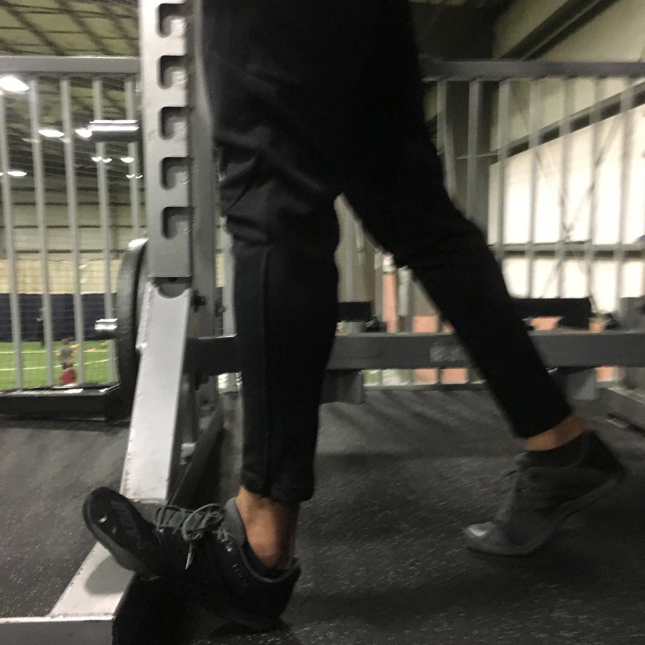 Straight Leg Calf Stretch