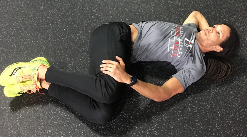 Lower Back & Thoracic Spine Stretch