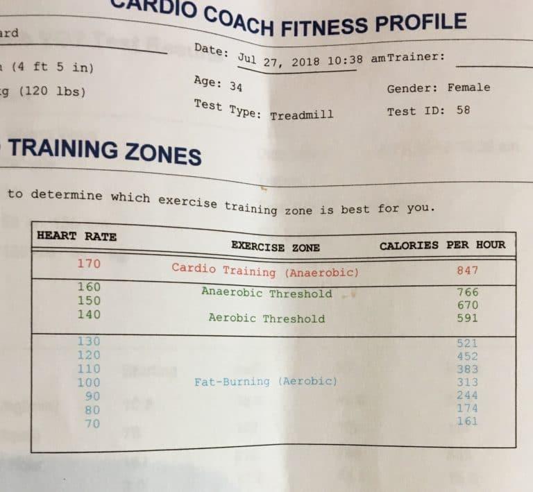 VO2 Max Training Zones
