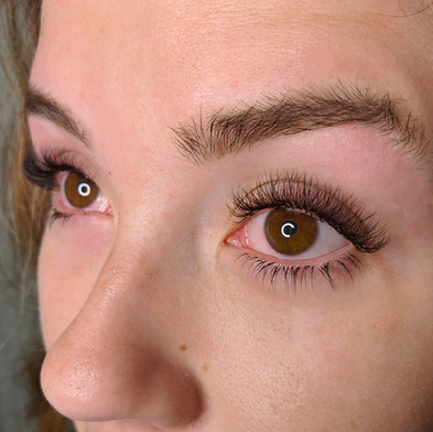 Top and Bottom Lashes