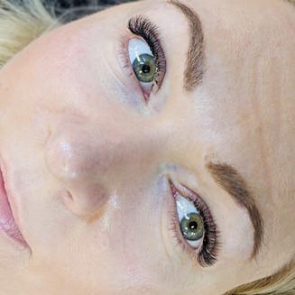 Training at Flawless lashes by Loreta