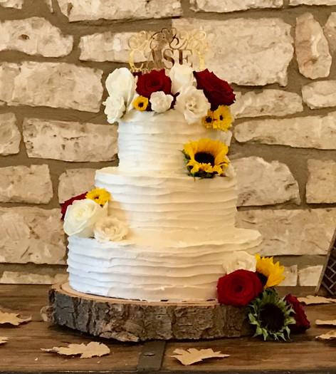 White Cake w Flowers.JPG