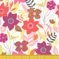 Multiple Flowers Pink
