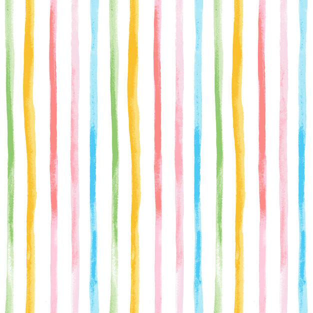 Watercolor Stripe