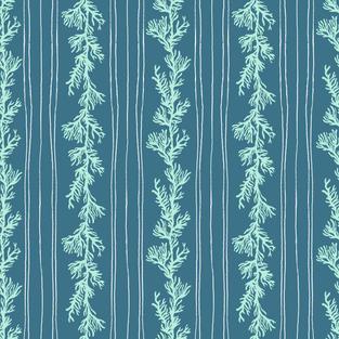 Blue Seaweed Dark