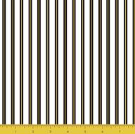 Gold Metallic Strip Black