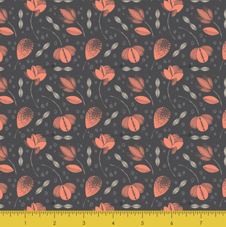 Bold Blooms Coral