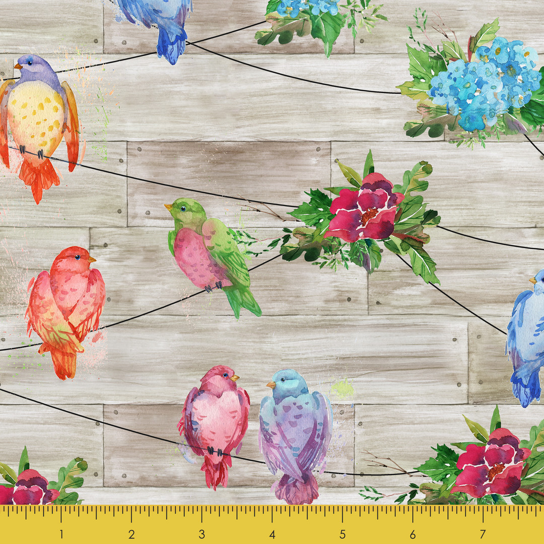 Blooming Birds