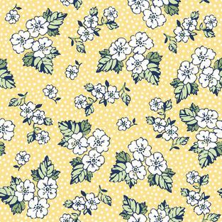 Floral Dot Yellow