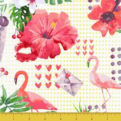 Flamingo in the Garden