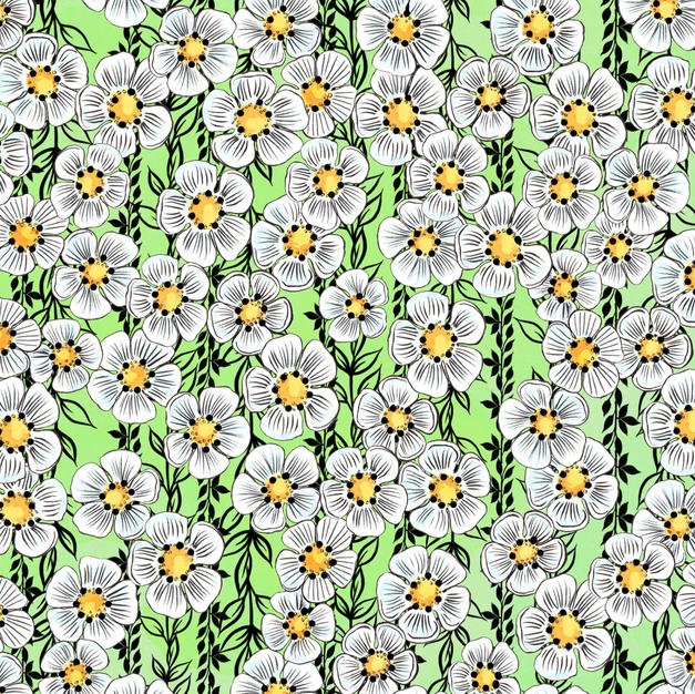 Daisy Light Green
