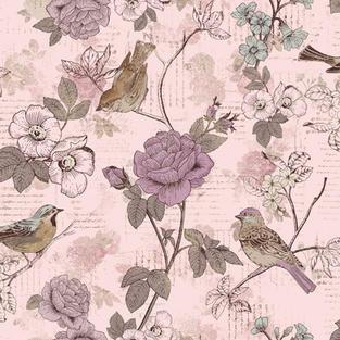 Words Birds Lavender