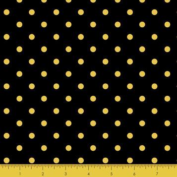 Gold Metallic Dot Black
