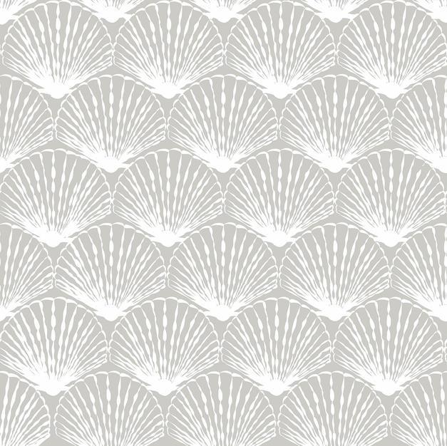 White Fan Shell