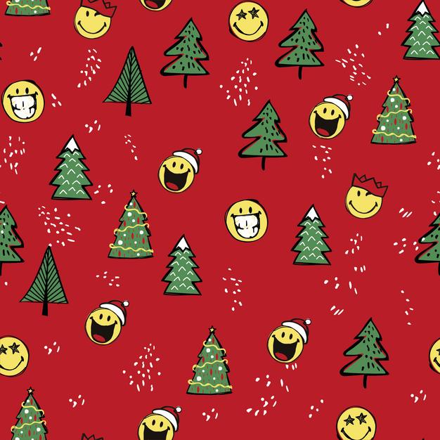 Smiley World Happy Christmas