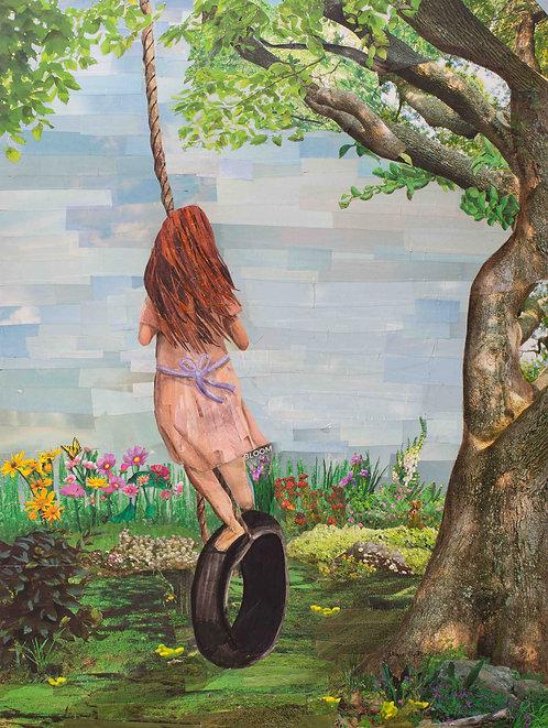 """Tire Swing"" - Print"