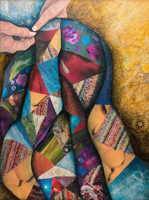 """""""The Quilt"""" - Print"""