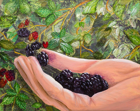 """Blackberry Pickin'"" - Print"