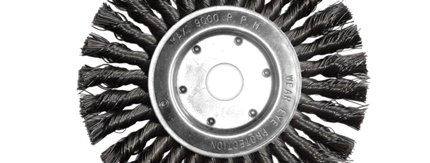 Wheel Brushes, Knotted