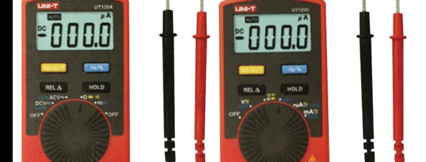 Pocket Size Type Digital Multimeters  UT120A