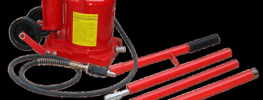 Pneumatic Hydraulic Bottle Jack 50T  TRQ50002