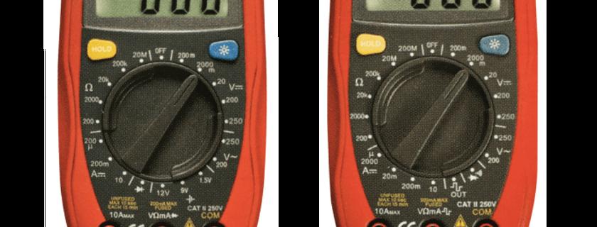 Palm Digital Multimeters  UT33B