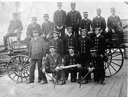 Virginia Fire Department - Hand Ladder (