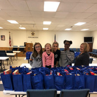 Cops and Kids - Thanksgiving Food Bags 2