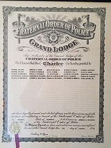FOP Lodge 13 - Original Charter