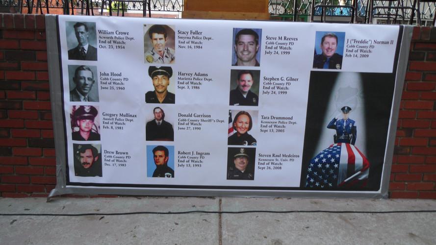 Cobb Fallen Officers Banner.JPG