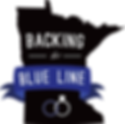 Backing the Blue Line -Black - Logo